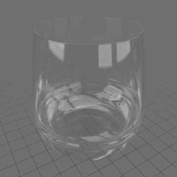 Empty water glass 1