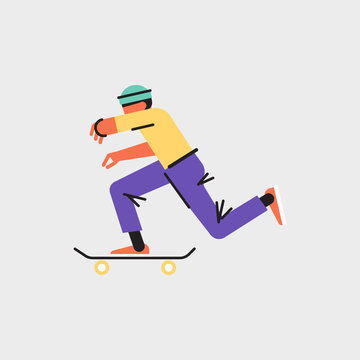 Skater Boy Street Style  Millennial Character