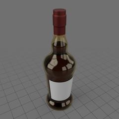 Porto wine bottle 2