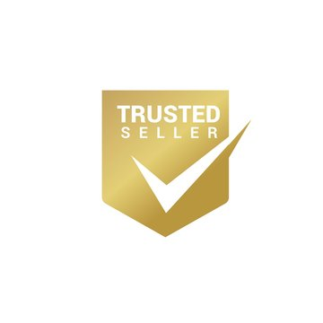 Trusted Seller Logo Design Vector Template