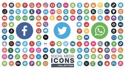 all social media icons
