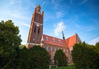 St. Petri Church in Woerlitz, Dessau, Germany