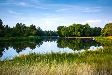 English park of Woerlitz.
