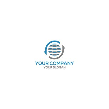 Sewer and Drain Logo Design Vector