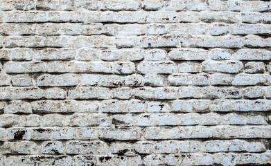 old white brick wall masonry