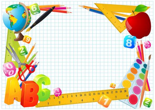 school education frame