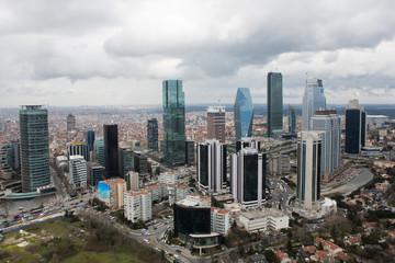 Fotomurales - Maslak City in İstanbul