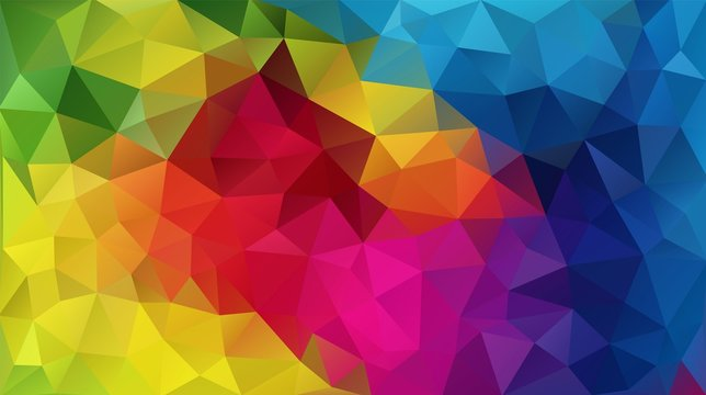 Cool covers design. Minimal triangle geometric gradients.