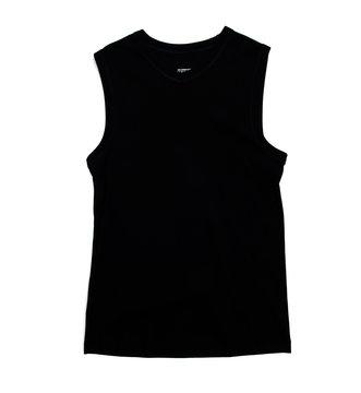 Black tank top tshirt template