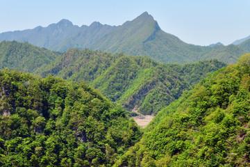 North Korea scenery