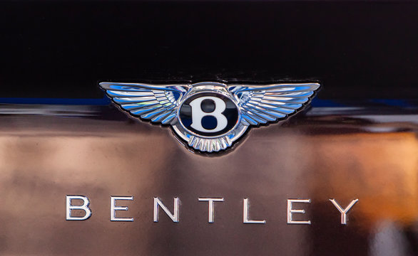 Detail of Bentley Continental GT W12 car. Bentley Motors Limited is a British manufacturer  of luxury cars founded at 1919