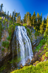 Fototapete - Narada Falls, Mt. Rainier National Park, Washington, USA