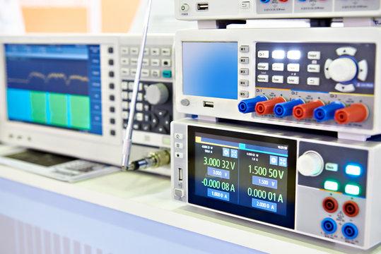 Modern power supply, spectrum analyzer devices