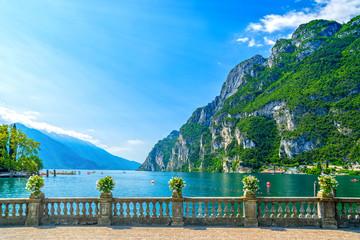Riva del Garda, Trentino, Italy, by Garda lake