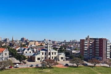A landscape image of Port Elizabeth, South Africa.