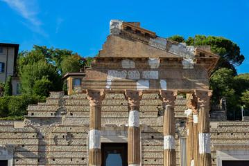 Fototapete - Brescia - Capitolium