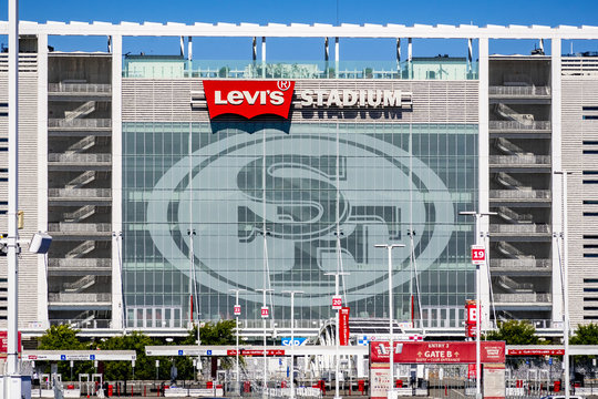 August 1, 2019 Santa Clara / CA / USA - Levi's Stadium, the New Home Of The San Francisco 49ers of the National Football League; Silicon Valley