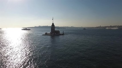Fotomurales - Aerial view of Maiden Tower