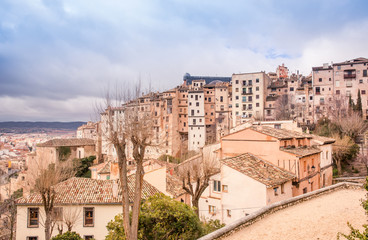 View of the old city in Spain