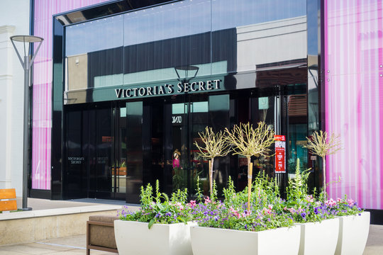 January 11, 2018 Palo Alto / CA / USA - Victoria's Secret store at the Stanford Shopping center