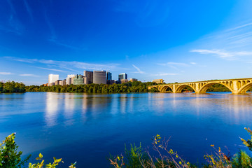 Georgetown Waterfront Park is beutifle place for kayaking, jogging and cycling backdrops.