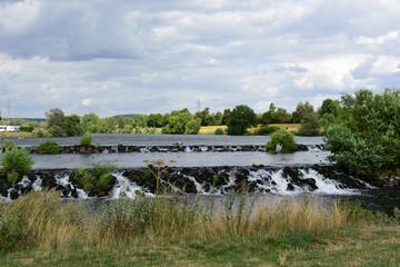 Wasserfall in Hattingen am Ruhr-Wehr