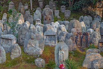 京都 清水寺 千体石仏群