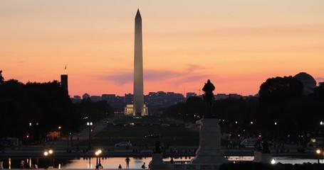 Fototapete - Washington Monument tower in DC