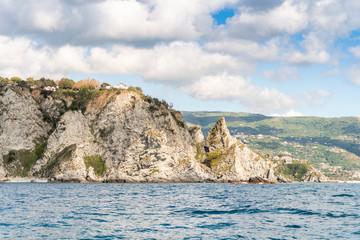 Coastline next to Tropea, Province of Vibo Valentia, Calabria, Italy