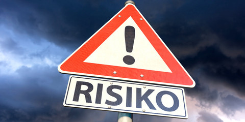 Schild Risiko