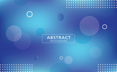 Modern  blue vector design with geometric pattern on abstract background.