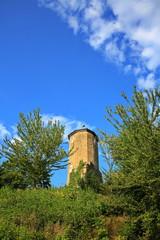 Fototapete - Schlossturm bei Castell in Unterfranken