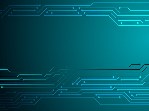 Circuit board or motherboard texture vector background graphic design.