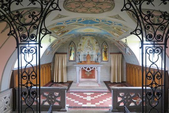 Italienische Kapelle auf der schottischen Insel Lamb Holm, Orkney