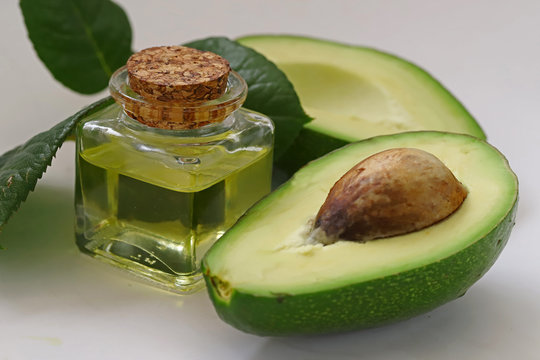 avocado and oil