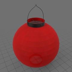 Japanese paper lantern 1