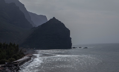 Gran Canaria Spain Playa de la Aldea coast San Nicolas