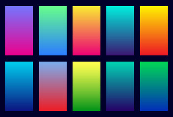 Abstract gradient soft background. Vector color gradient.