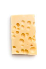 Block of tasty cheese.