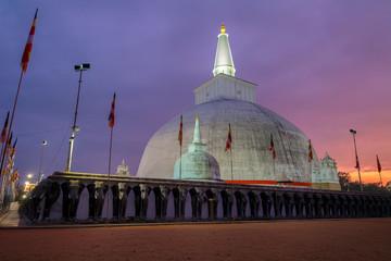 Stupa in Anuradhpura, Sri Lanka