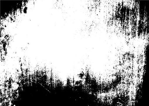 Black and white grunge. Distress overlay texture. Abstract surface dust and rough dirty wall background concept. Distress illustration simply place over object to create grunge effect . Vector EPS10.