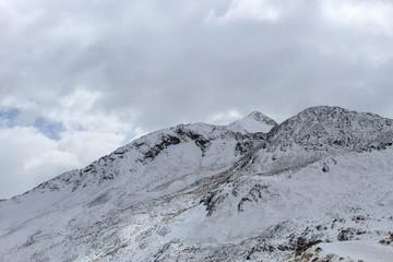 Nublado y nieve en Bolivia