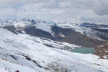 Vista de Chacaltaya en Bolivia