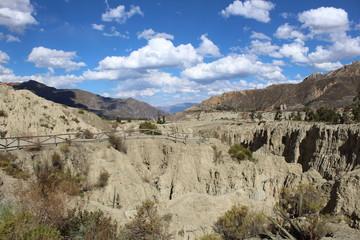 valle de la luna en la paz, Bolivia