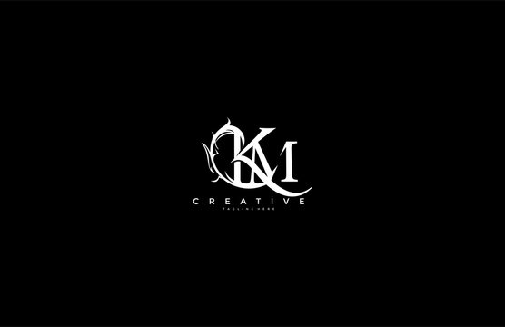 Km Monogram Photos Royalty Free Images Graphics Vectors Videos Adobe Stock
