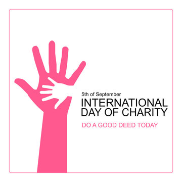 International day of charity 5th September.