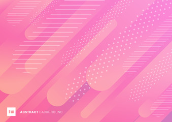 Abstract pink color pattern liquid gradient lines background. Modern geometric fluid shapes in dynamic motion.