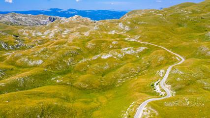 national park of Durmitor in Montenegro, Balkans in Europe