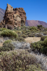 Mount Teide Caldera and it's Surrounding Mountains
