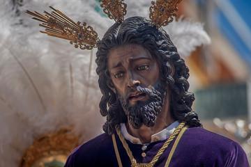 Fototapete - hermandad de Jesús cautivo de San Pablo, semana santa en Sevilla